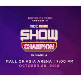 【日本公式】MBC MUSIC SHOW CHAMPION IN MANILA 2018